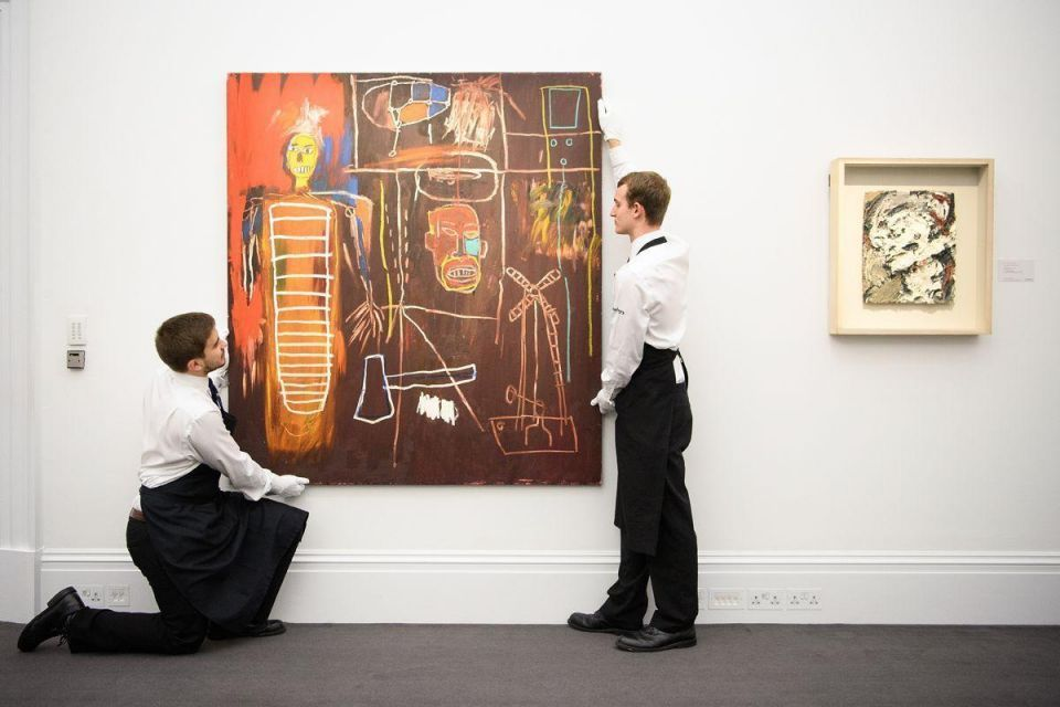 In pictures: Auction preview of the personal art collection of David Bowie at Sotheby's