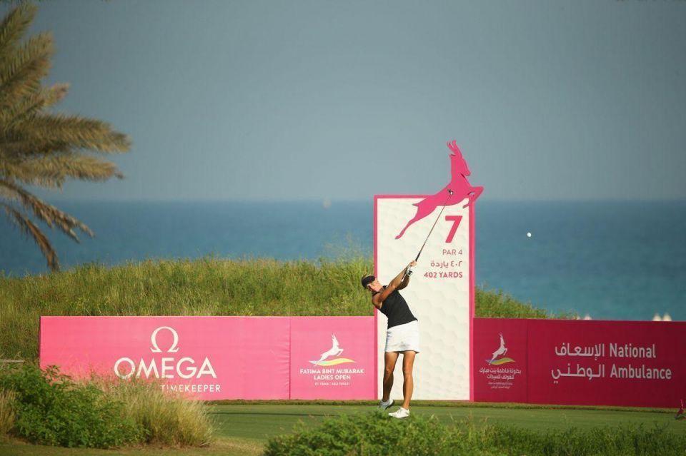 In pictures: Fatima Bint Mubarak Ladies Open in Abu Dhabi
