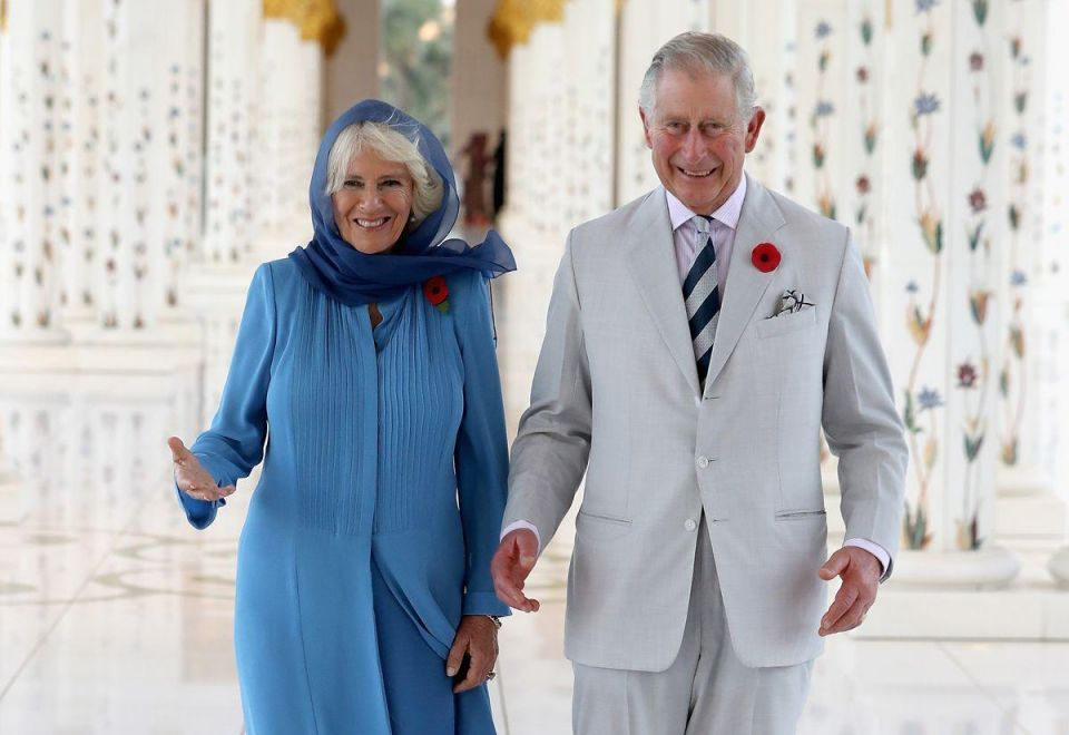 In pictures: Britain royal couple toured the Grand Mosque in Abu Dhabi