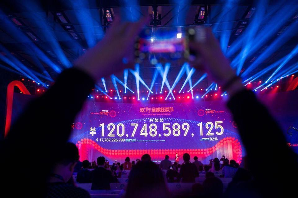Video: Alibaba Singles' Day makes one billion dollars in sales in under five minutes