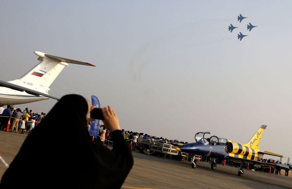 In pictures: 8th International Iran Kish air show