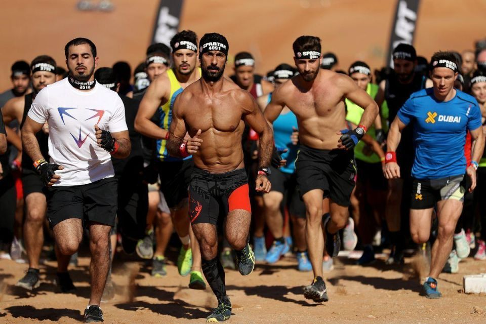 In pictures: Sharjah hosted its first ever Spartan Race