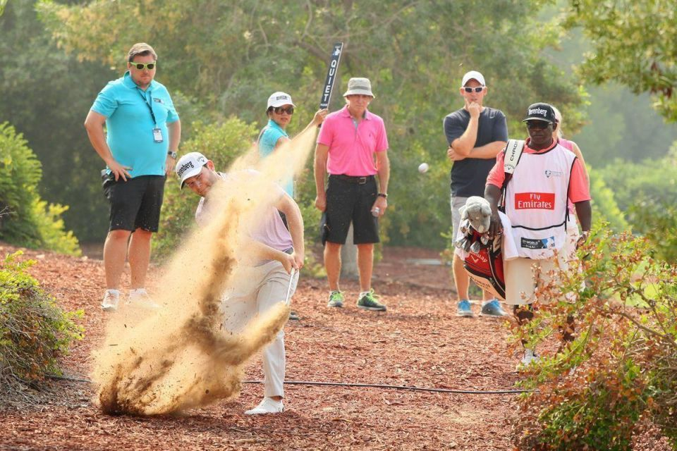 In pictures: DP World Tour Championship - Day 4