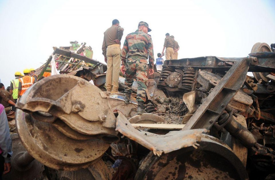 In pictures: Over 100 killed after Patna-Indore Express derailed in Kanpur district