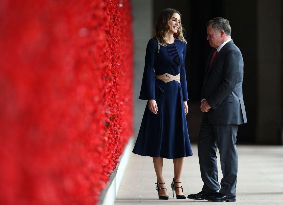 In pictures: King Abdullah II and Queen Rania of Jordan are in Australia