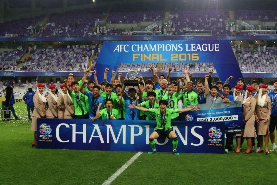 In pictures: South Korea's Jeonbuk Motors claim AFC Champions League 2016 title