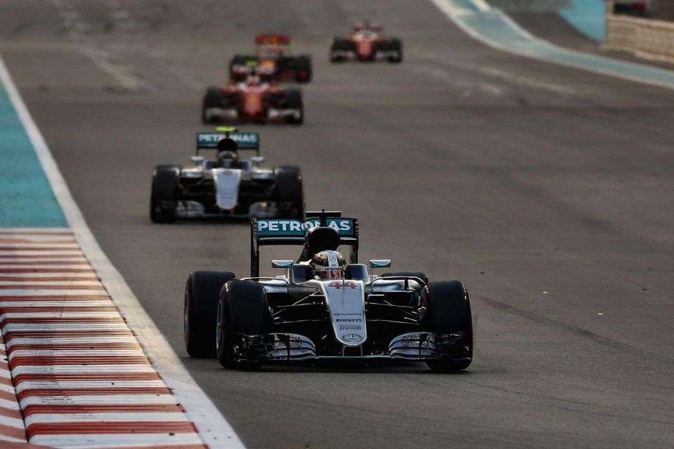 In pictures: F1 Etihad Airways Abu Dhabi Grand Prix