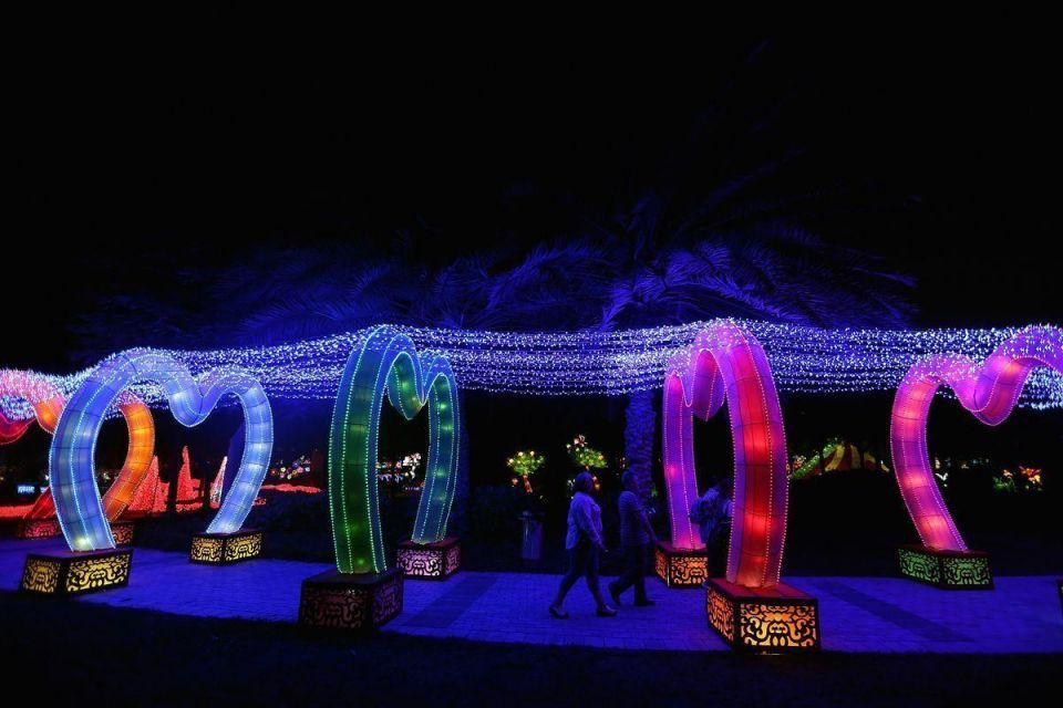 In pictures: The 2nd season of Dubai Garden Glow opens to public