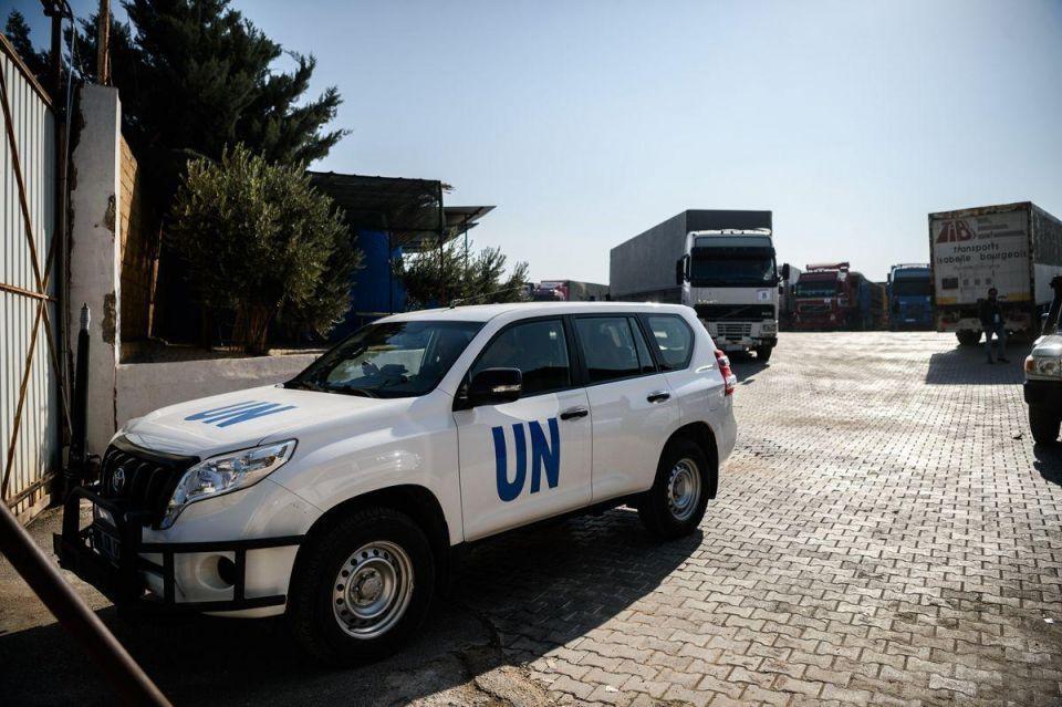 In pictures: UN humanitarian aids transhipment hub near the Turkish-Syrian border