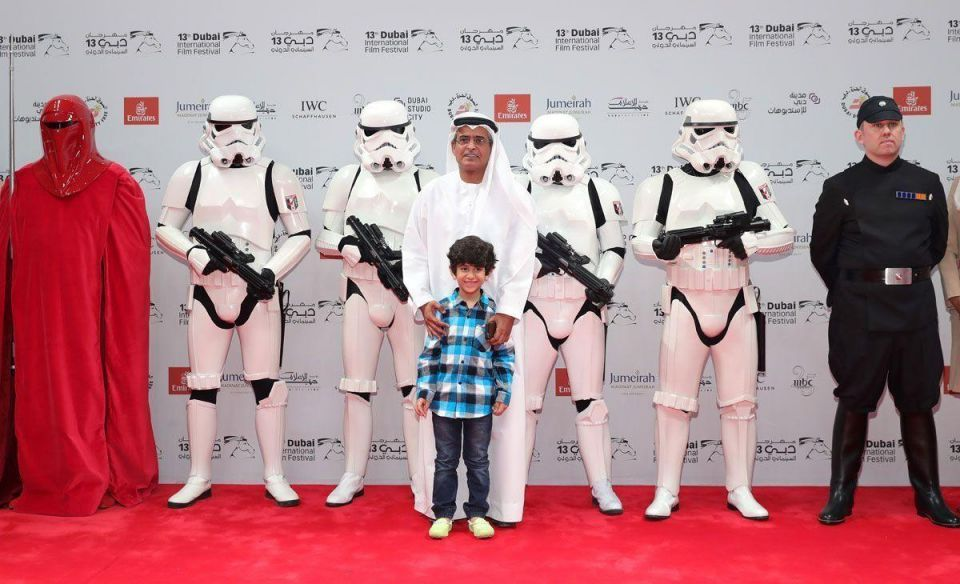 Rogue One: Star Wars Story cosplayers at DIFF closing night gala