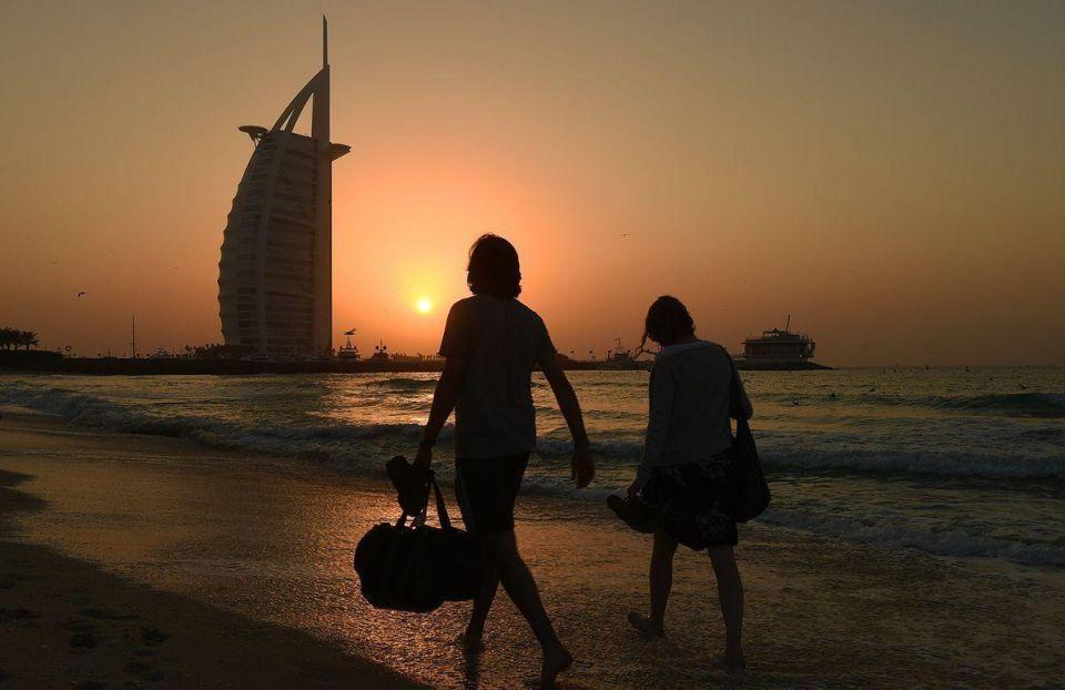 In pictures: Views of Dubai's Burj Al Arab