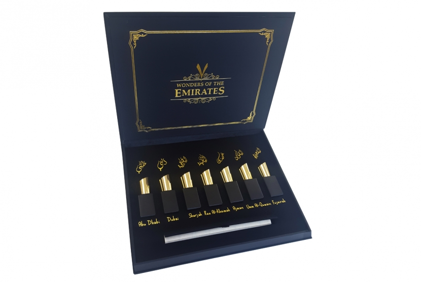 Revealed: 7 wonders of the Emirates perfume collection