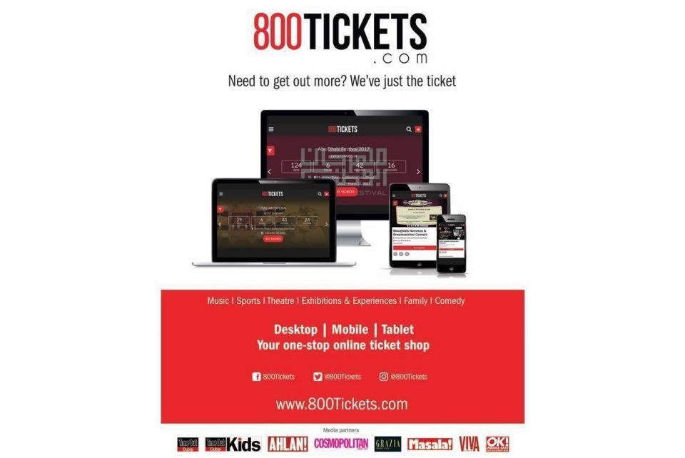 800Tickets launches ticketing website