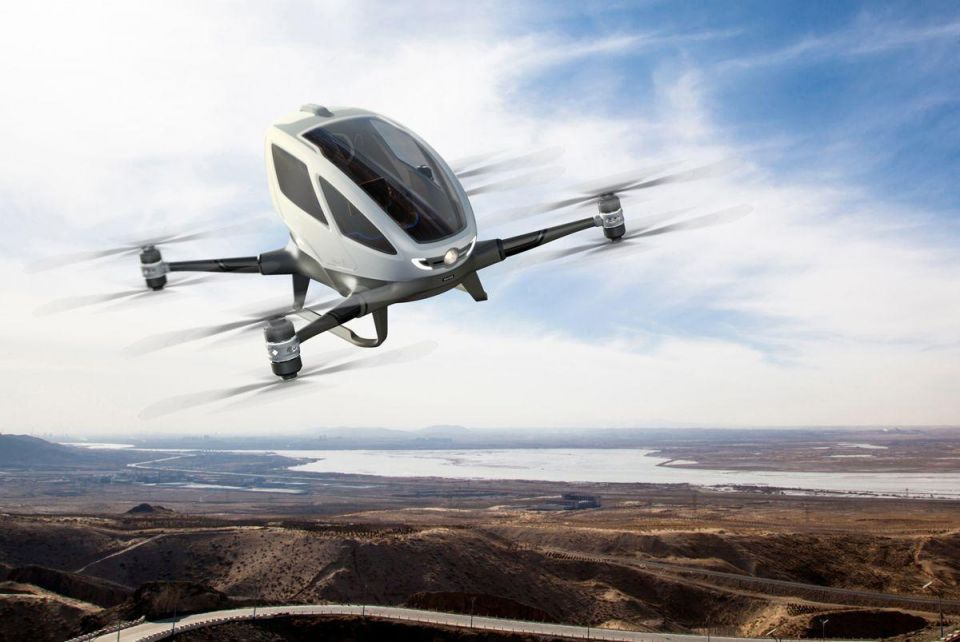 Uber plans self-driving drone taxis