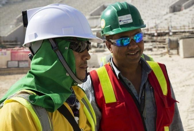 Qatar's cooled helmets 'to revolutionise construction sector'