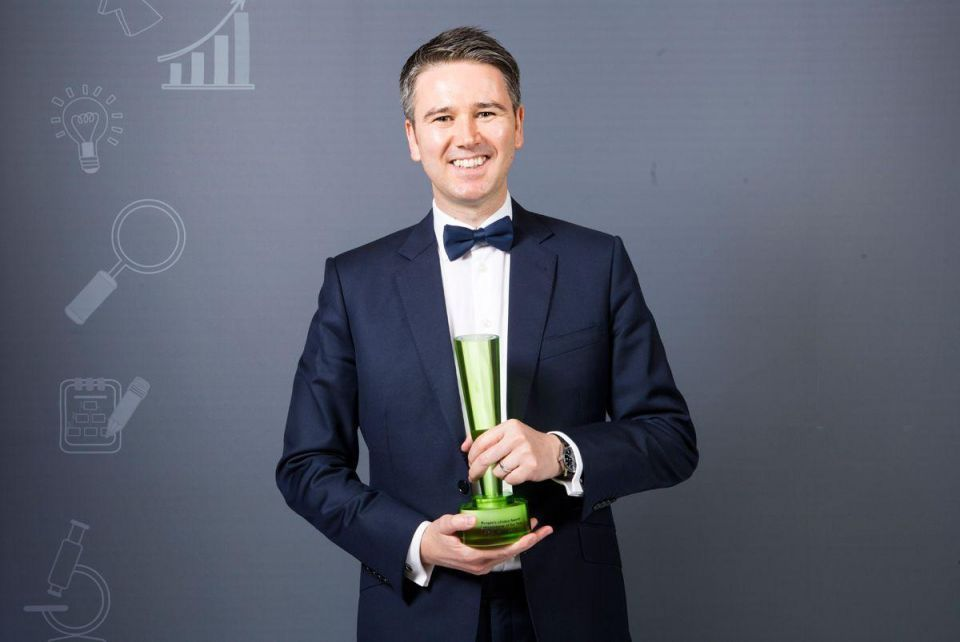 People's Choice Award: Entrepreneur of the Year - Craig Moore, founder of Beehive