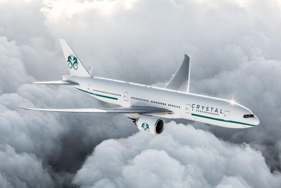 Luxury in the clouds: Crystal Aircruises' bespoke Boeing