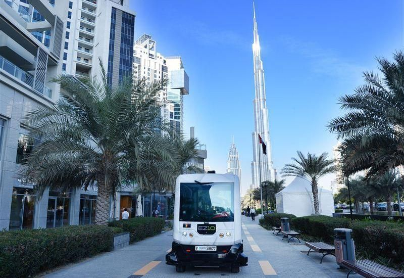 Driverless cars test run begins in Dubai's Business Bay