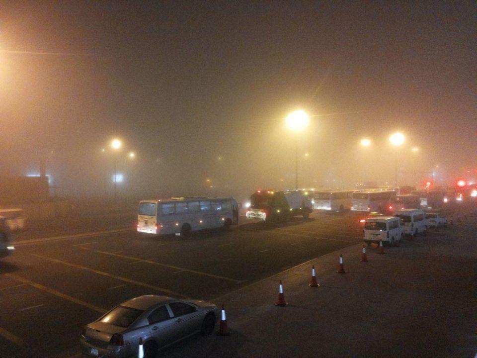 Fog on Dubai and Abu Dhabi roads, says NCMS