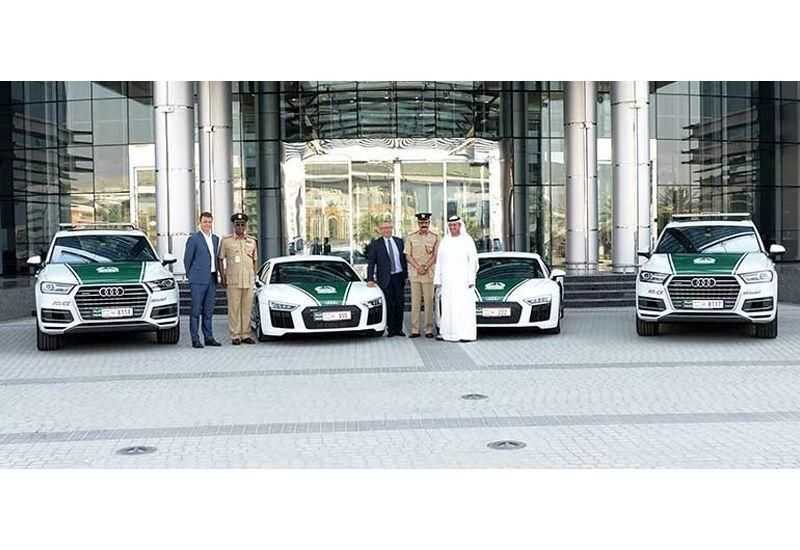 Audi supercars the latest to join Dubai Police's luxury patrol fleet