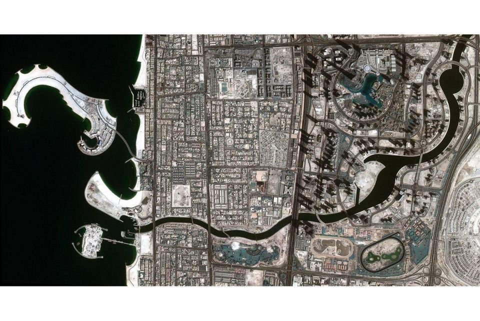 New satellite images show Dubai Water Canal is complete