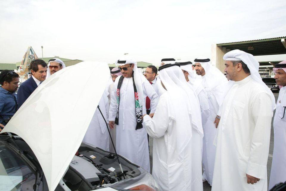 Dubai Municipality adds 20 eco-friendly cars to its fleet