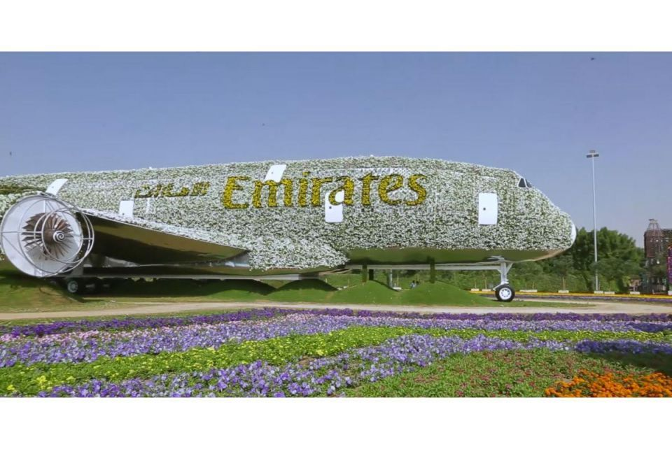 In pictures: The Emirates A380 Blossoms at Dubai Miracle Garden