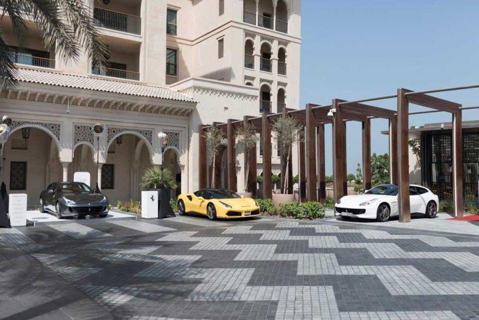 Salotto Ferrari open-lounge space launches in Dubai