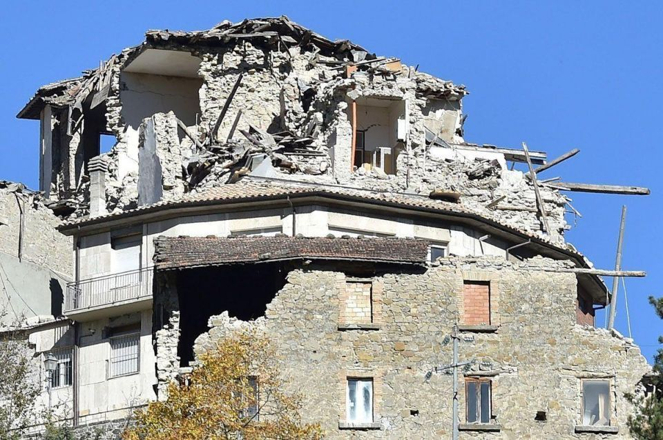 In pictures: 6.6 magnitude earthquake strikes central Italy