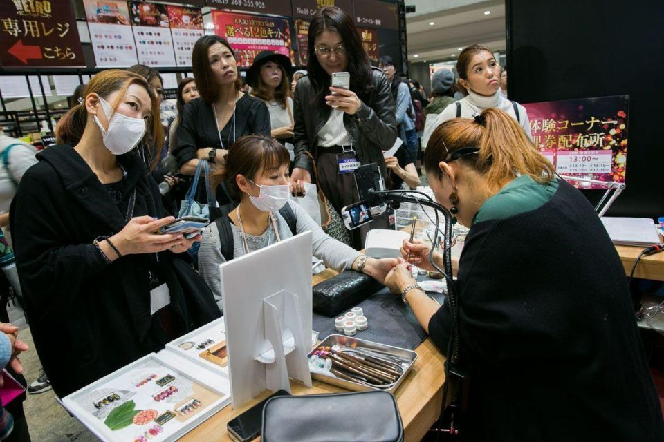In pictures: Tokyo Nail Expo 2016