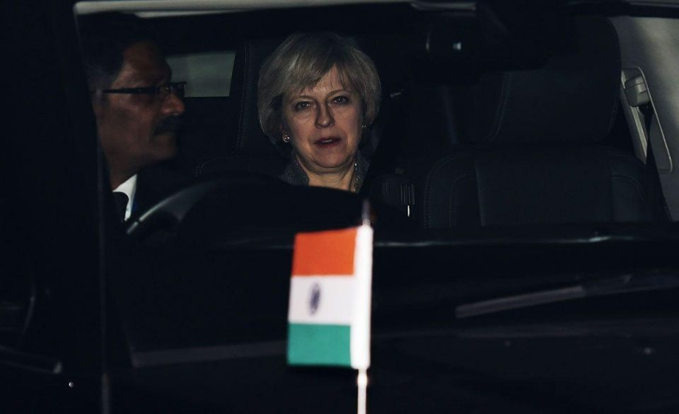 In pictures: Britain's Prime Minister Theresa May visit to India