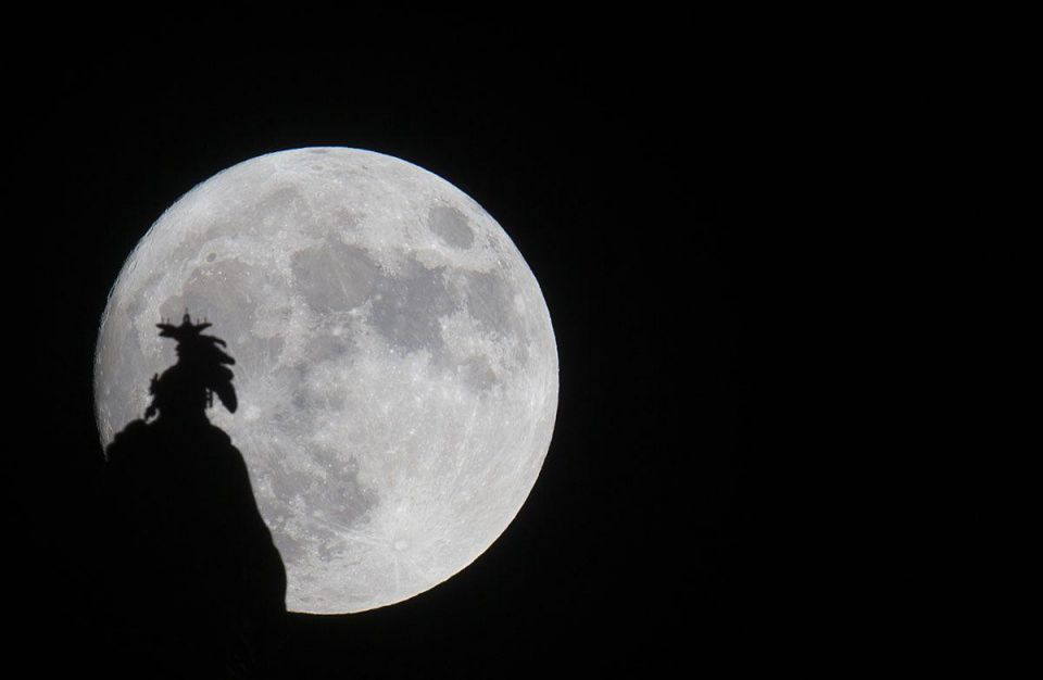 In pictures: Supermoon sightings around the world