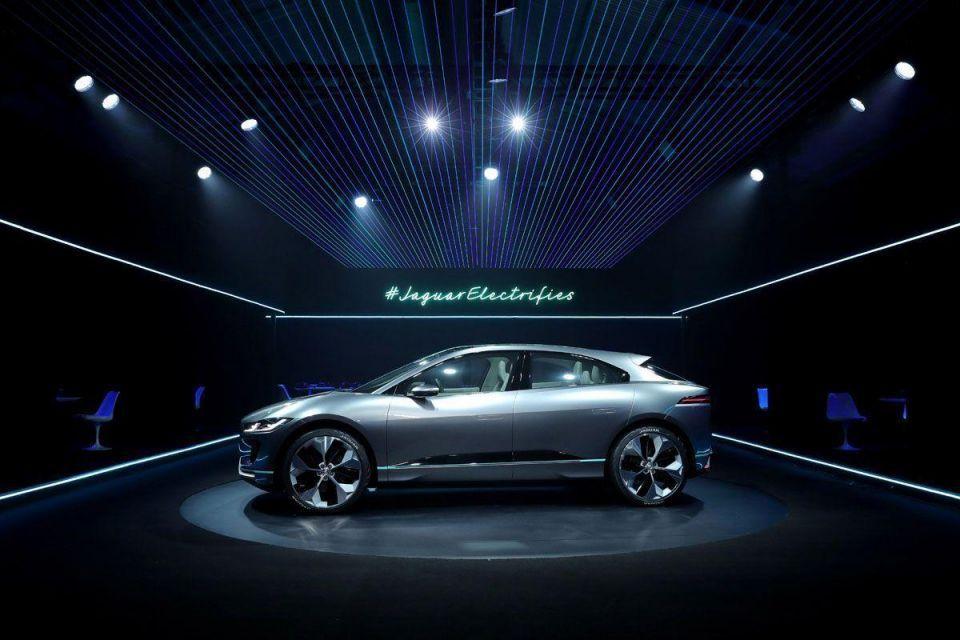 In pictures: Jaguar I-PACE concept car