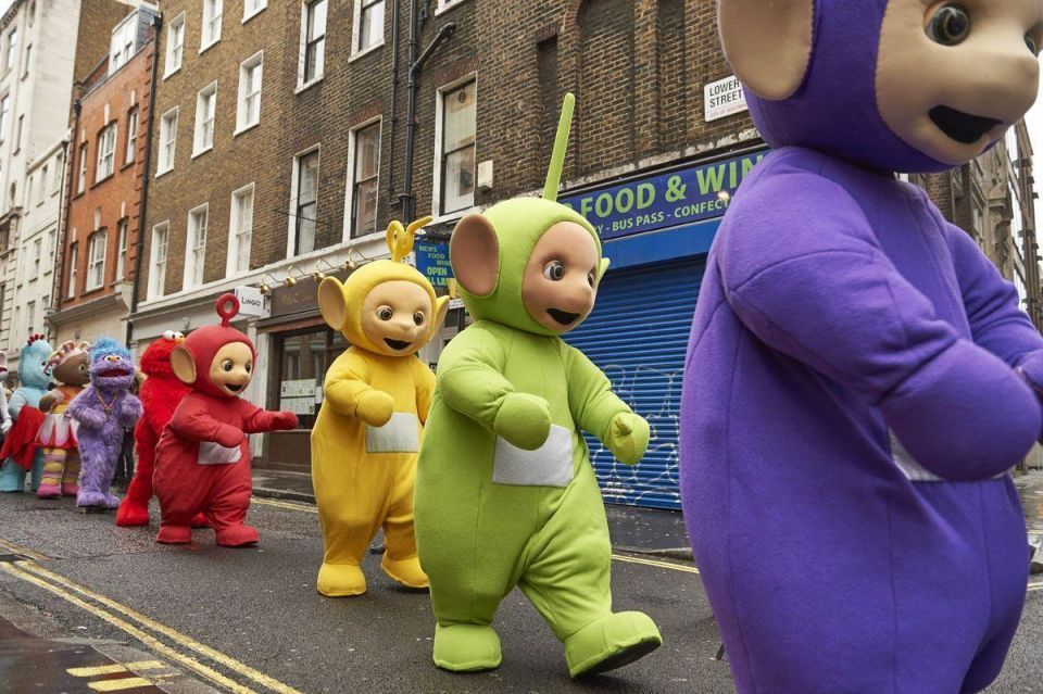 In pictures: Hamleys Christmas Toy Parade on Regent Street in London