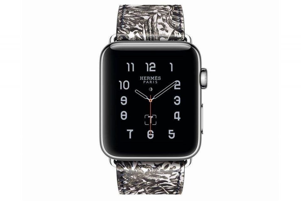 Hermès, Apple collaborate on limited edition watch