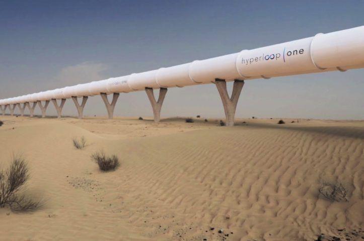 Dubai to build hyperloop connection to Expo 2020 venue
