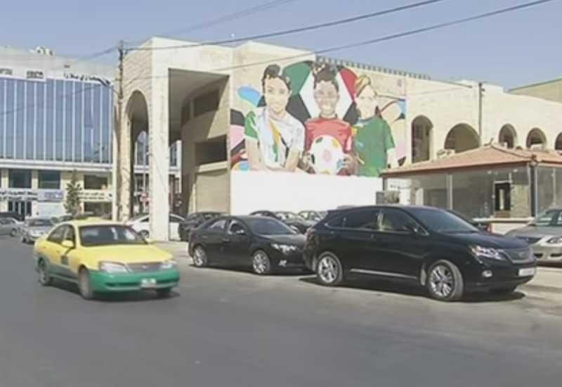 Video: Artists look to challenge female stereotypes with murals in Jordan