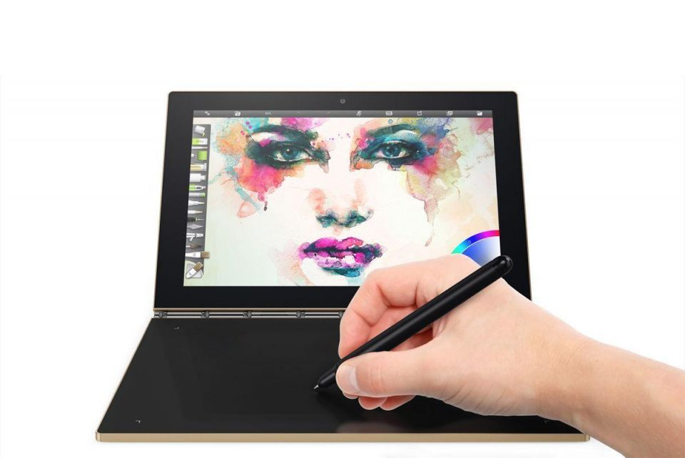 In pictures: Lenovo Yoga Book 2-in-1 device