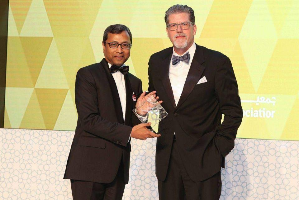 Sunil John takes home Chairman's Award at Middle East PR Awards