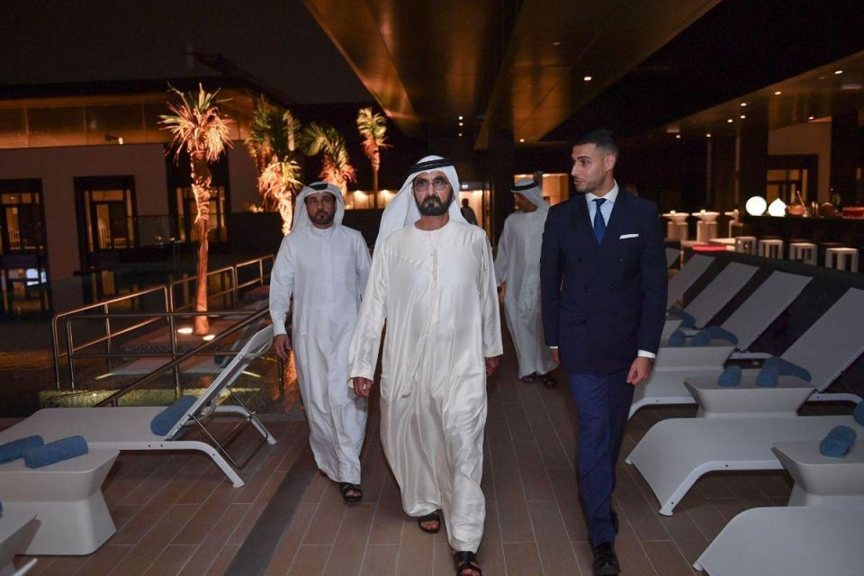 In pictures: Sheikh Mohammed tours Valiant Clinic and La Ville Hotel in City Walk