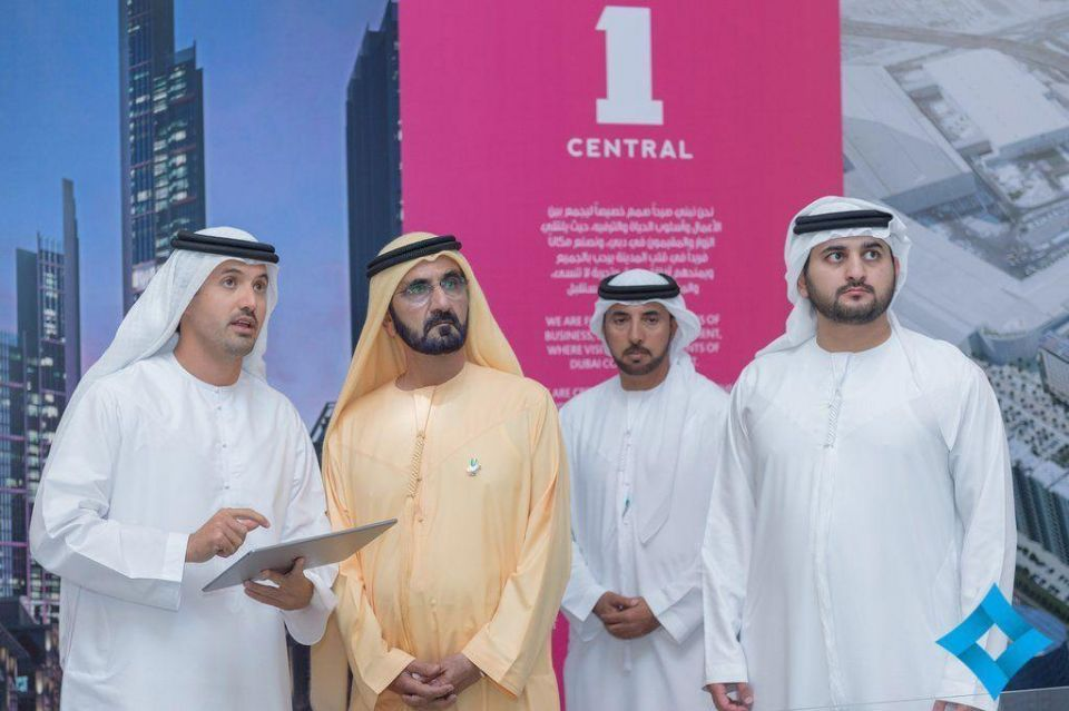 Sheikh Mohammed reviews plans for $2bn '1 Central' project at Dubai World Trade Centre
