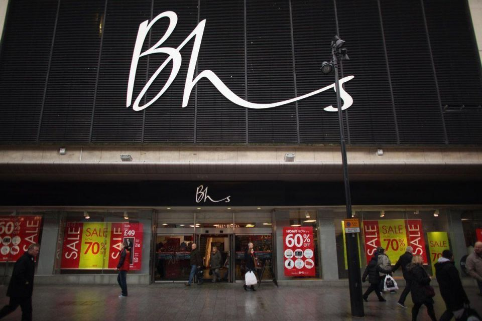 Five BHS stores in the UAE set to shut