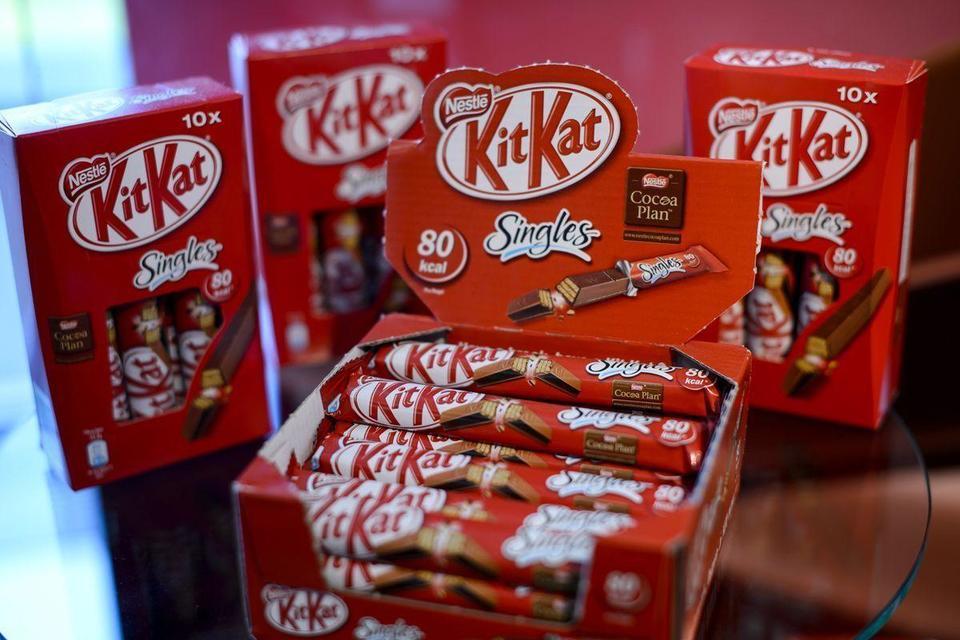 Video: Kitkat maker Nestle on a healthkick