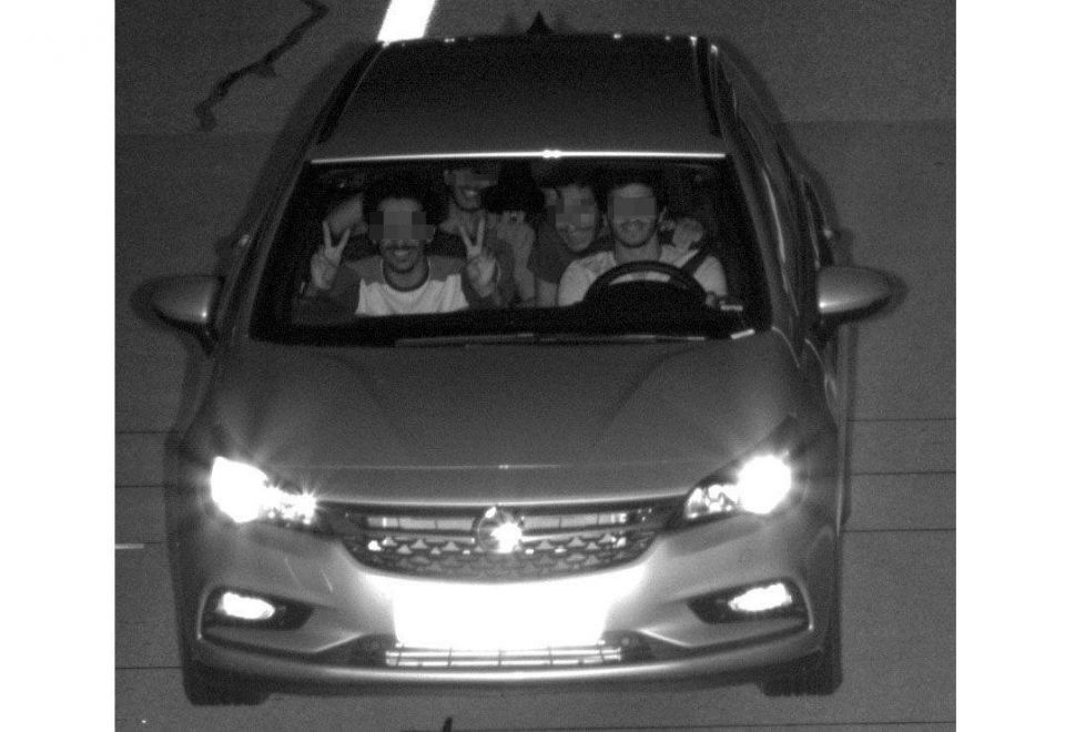 Four UAE nationals snapped driving at 200kph in Germany
