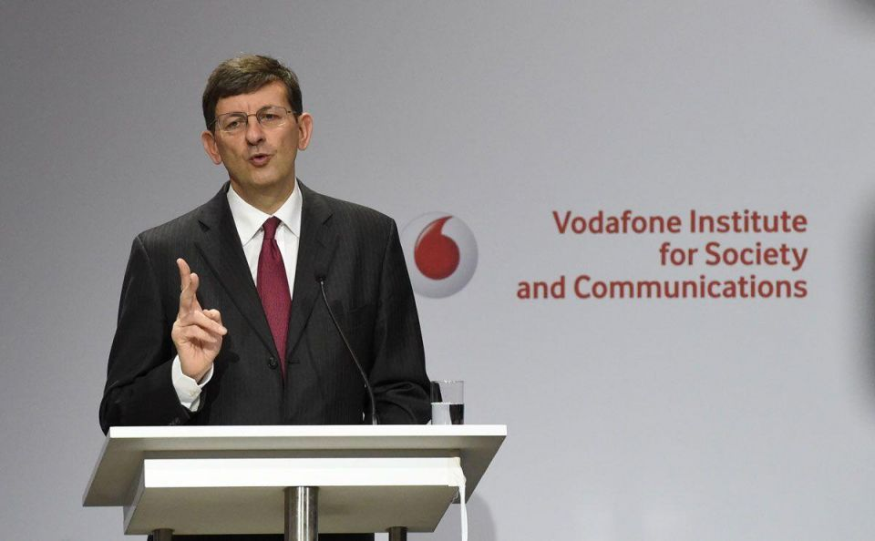 Vodafone Group Plc reports first quarter earnings