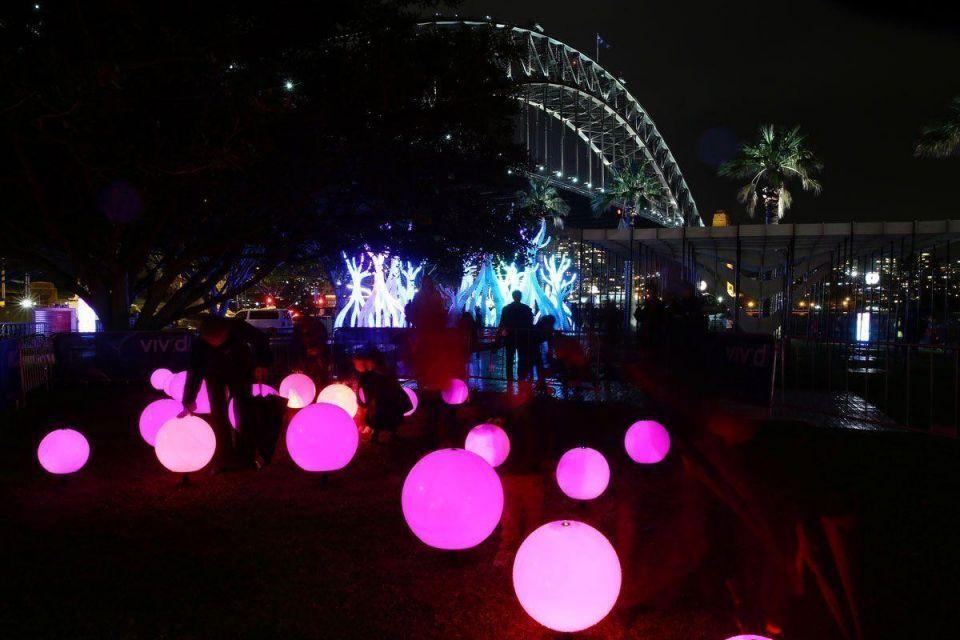 Annual Vivid Sydney Festival