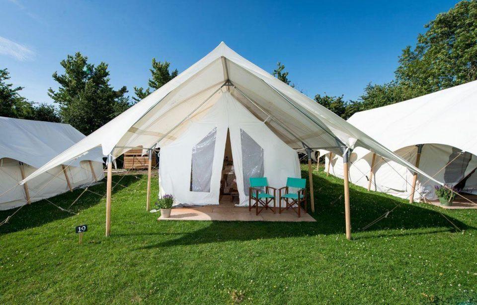 In pics: Accommodation during Glastonbury Festival 2015
