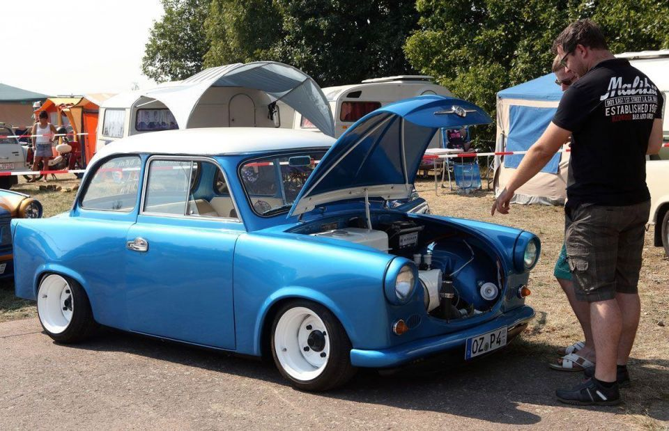 Trabant enthusiasts gather in Germany