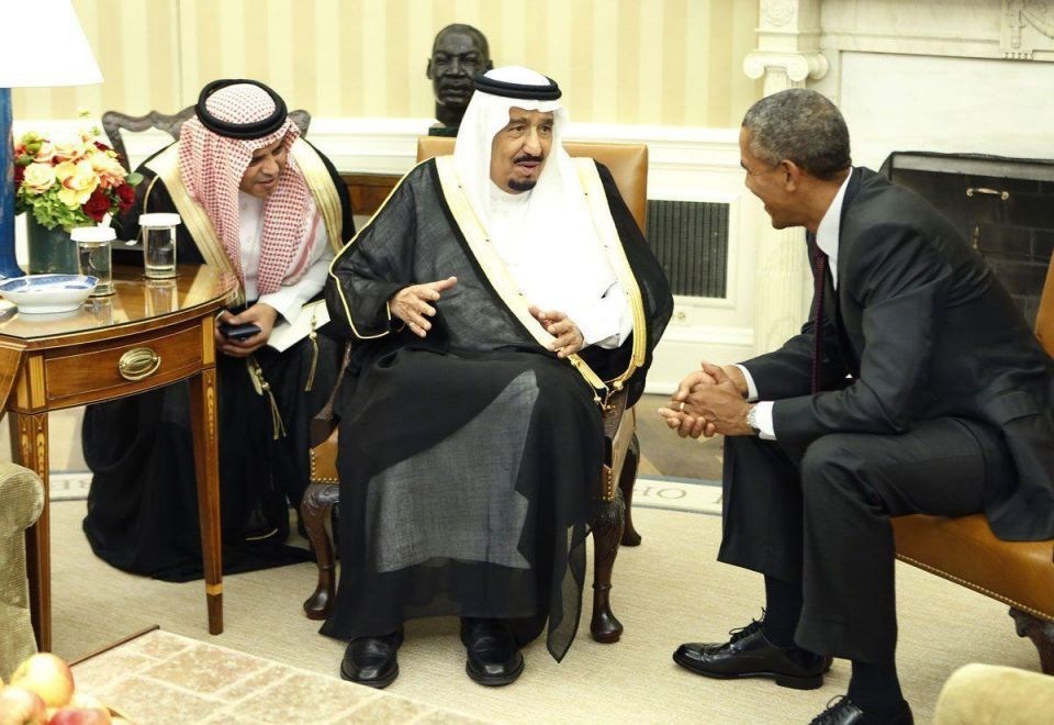 Behind the scenes: Saudi Arabia's King in The White House