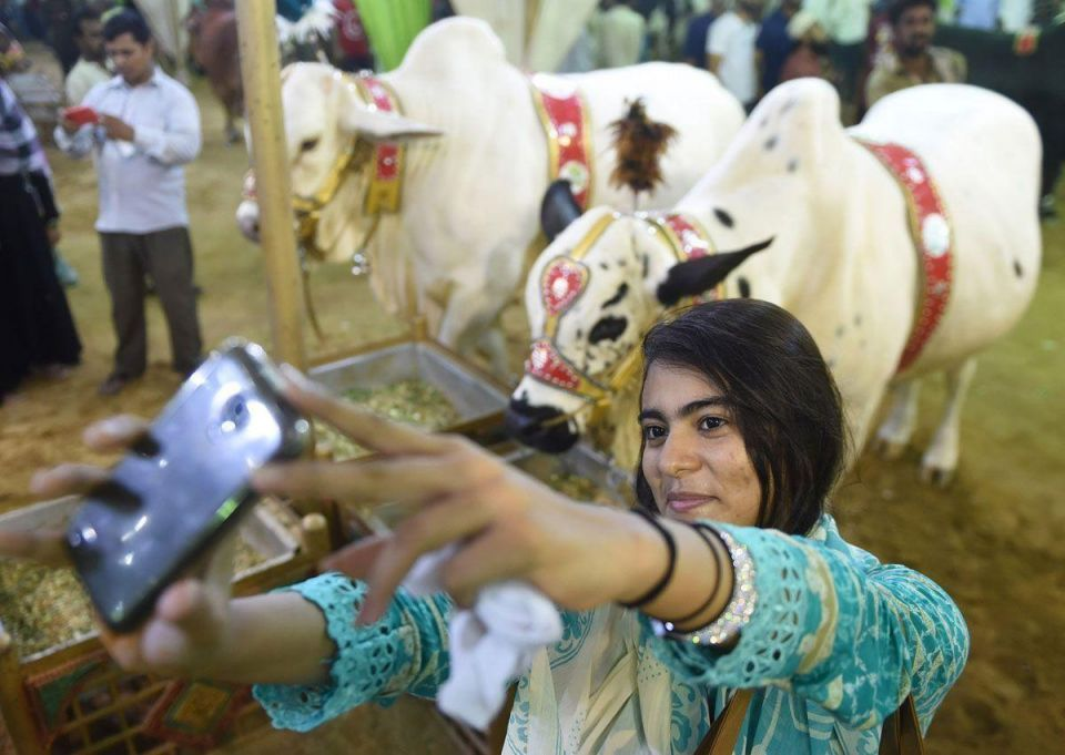 Muslims around the world celebrate Eid al-Adha holiday